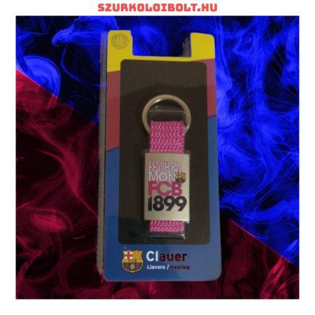 F.C. Barcelona kulcstartó (pink)- eredeti Barca klubtermék!!!