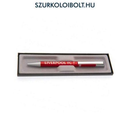 Liverpool FC  díszdobozos toll - ideális ajándék cégvezetőknek (hivatalos, eredeti klubtermék)