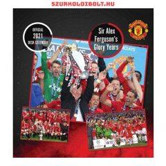 Manchester United asztali naptár, a legnagyobb sztárokkal és sikerekkel