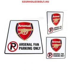 Arsenal FC parkoló szurkoló tábla - eredeti, hivatalos klubtermék