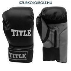 Title Box Champion boxkesztyű / bokszkesztyű (fekete)