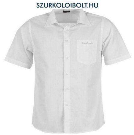 Pierre Cardin Plain - fehér rövidujjú ing
