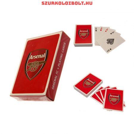 Arsenal szurkolói kártya, römikártya, eredeti hivatalos klubtermék.
