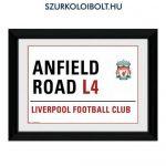 Liverpool FC falikép (prémium szurkolói termék) - hivatalos Liverpool FC klubtermék!