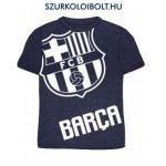 Fc Barcelona rövidujjú gyerek póló (sötétkék) - eredeti, hivatalos klubtermék  - FC Barcelona szurkolói ajándék
