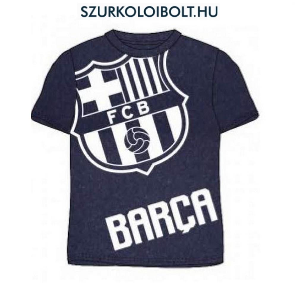 Fc Barcelona rövidujjú gyerek póló (sötétkék) - eredeti 3eea583b39