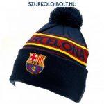 FC Barcelona szurkolói kötött bojtos sapka - hivatalos FC Barcelona ajándék termék!