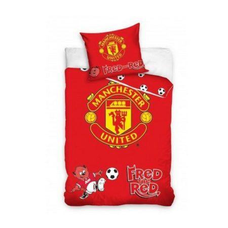 Manchester United FC gyerek szurkolói ágynemű garnitúra / szett - hivatalos, liszenszelt termék (kétoldalas)