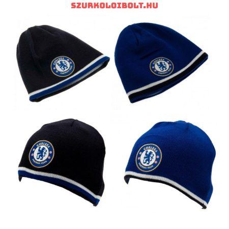 Chelsea FC kifordítható (kétoldalas) kötött sapka - eredeti, hivatalos klubtermék!