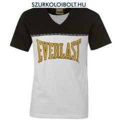 Everlast Mocklayer - Everlast póló (férfi, fehér-fekete, V-nyakú)