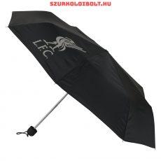 Liverpool FC fekete esernyő klubcímerrel - hivatalos szurkolói termék