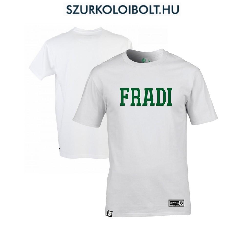 Ferencváros póló - Fradi szurkolói póló (fehér) - Eredeti termékek ... a8c06e139b