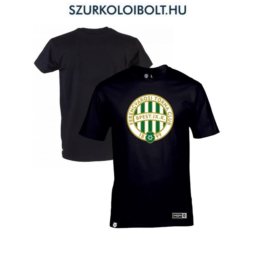 Ferencváros póló - Ferencváros szurkolói póló a csapat színeiben (fekete) 1f791260b7