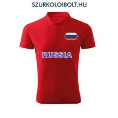 Orosz póló -  szurkolói ingnyakú / galléros póló (pios)