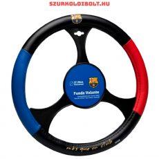 FC Barcelona kormányvédő (bőr / műbőr) - hivatalos klubtermék, eredeti szurkolói termék