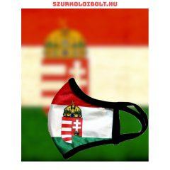 Hungary maszk, a csapat hivatalos logójával