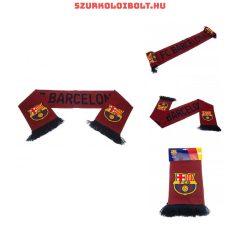 FCB Barcelona Grana sál csíkos -   hivatalos szurkolói sál (kétoldalas)
