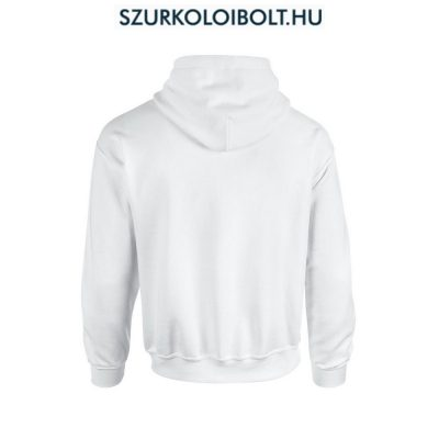Hungary feliratos kapucnis pulóver (Fehér) magyar válogato