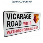 Watford FC utcanévtábla - eredeti, hivatalos klubtermék