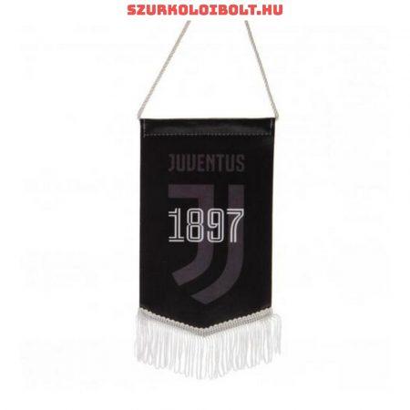 """Juventus """"logo"""" autós zászló (eredeti, hivatalos klubtermék)"""