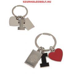 Ferencváros kulcstartó (színes, gumi)- eredeti Fradi  klubtermék!!!