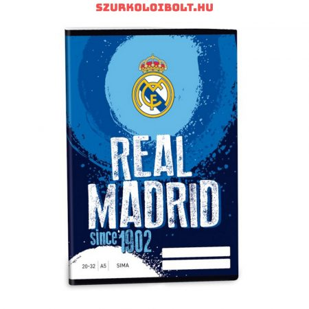 Real Madrid sima A/5-ös füzet
