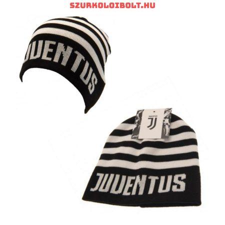 Juventus kötött sapka (csíkos) - hivatalos Juventus klubtermék!