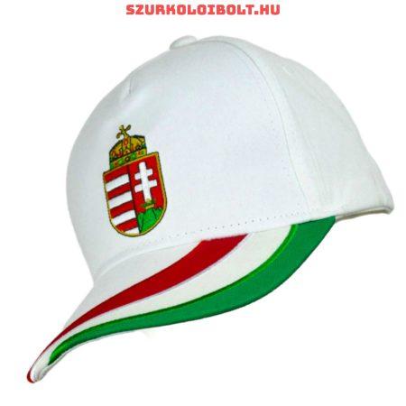 Hungary Baseball -  baseballsapka Hungary felirattal (magyar válogatott szurkolói termék) (fehér)