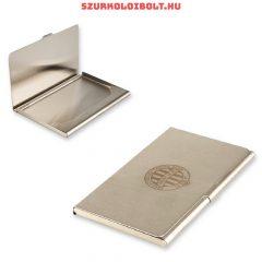 Ferencváros fém névjegykártyatartó - tökéletes szurkolói ajándék
