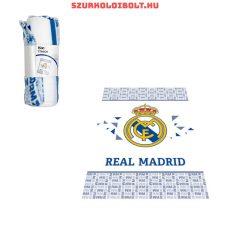 """Real Madrid takaró """"Hala Madrid"""" - eredeti, hivatalos klubtermék, szurkolói ajándéktárgy"""