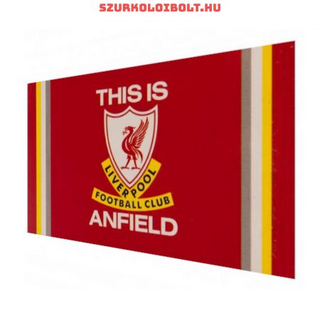 Liverpool F.C. flag - Liverpool zászló (This is Anfield)