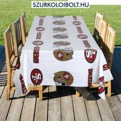 San Francisco 49ers asztalterítő - hivatalos NFL klubtermék