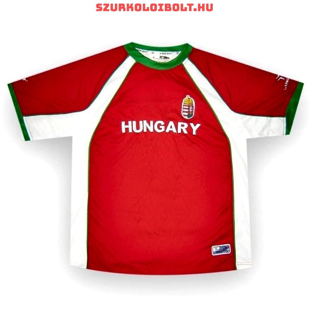 a2a1d9891e Magyarország szurkolói focimez - hímzett magyar válogatott drukkermez (akár  felirattal is)