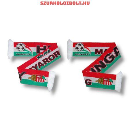 Hungary kétoldalas kötött sál ( magyar válogatott sál) Hajrá Magyarország!