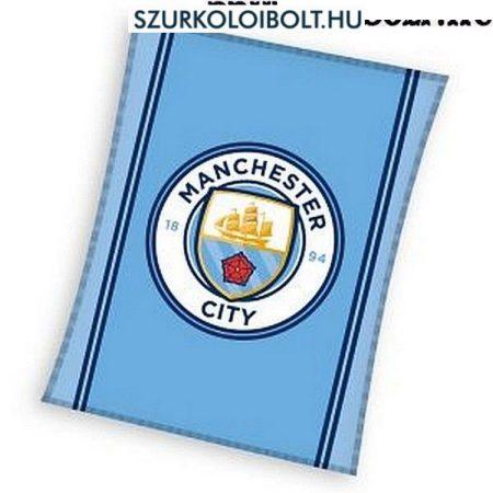 Manchester City óriás polár takaró - eredeti, hivatalos Manchester City klubtermék, szurkolói ajándék