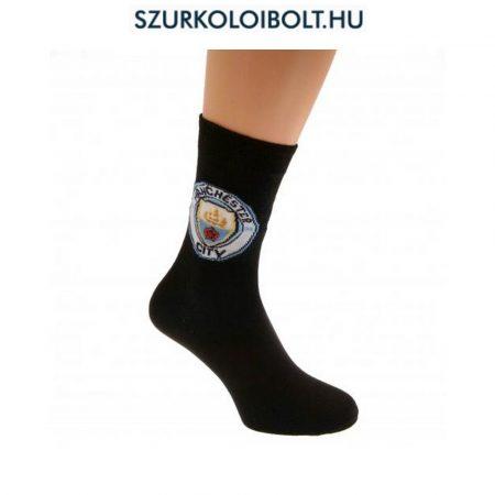 Manchester City címeres zokni (felnőtt 40-45)
