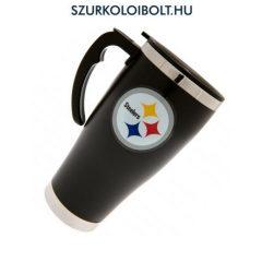 Pittsburgh Steelers utazó pohár, bögre fogantyúval - hivatalos klubtermék