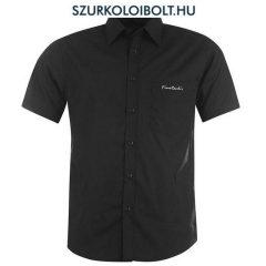 Pierre Cardin ing - fekete rövidujjú ing