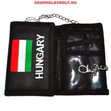 Hungary pénztárca - hímzett zászlóval és felirattal