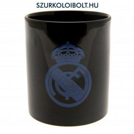 Real Madrid bögre (hőre jelenik meg színesben a csapatlogó)  kivitel - hivatalos klubtermék