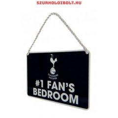 Tottenham Hotspur FC első számú szurkoló hálószobája tábla - eredeti, hivatalos klubtermék