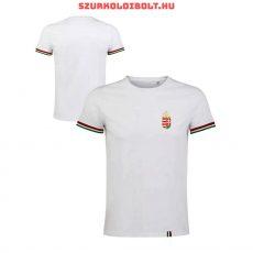 Hungary póló - hímzett magyar válogatott szurkolói póló