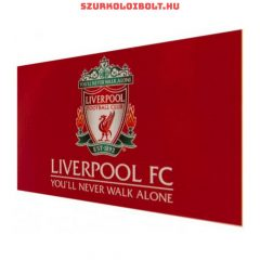 Liverpool F.C. flag - Liverpool zászló (You will never walk alone)