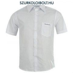 Pierre Cardin ing - fehér, csíkos rövidujjú ing