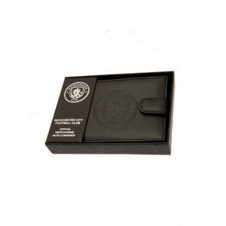 Manchester City bőr pénztárca / hitelkártyatartó - eredeti, liszenszelt Manchester City klubtermék!!!