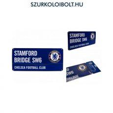 Chelsea Fc színes utcanévtábla - eredeti, hivatalos klubtermék