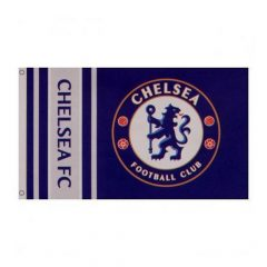 Chelsea F.C. zászló (csíkos)- Chelsea hivatalos szurkolói termék