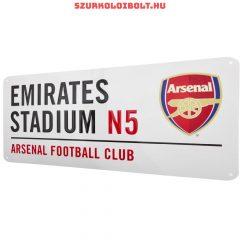 Arsenal FC utcanévtábla - eredeti, hivatalos klubtermék