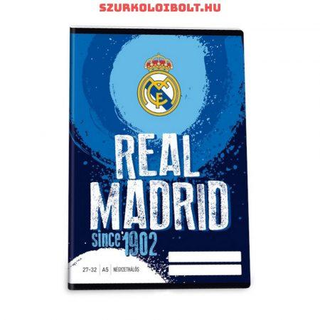 Real Madrid kockás A/5-ös füzet