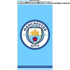 Szurkolói Manchester City strandtörölköző - hivatalos, liszenszelt klubtermék